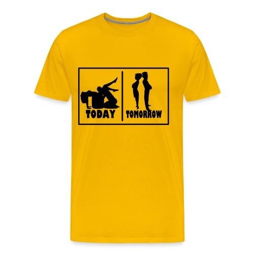T-Shirt Mariage - Aujourd'hui - Demain - T-shirt Premium Homme