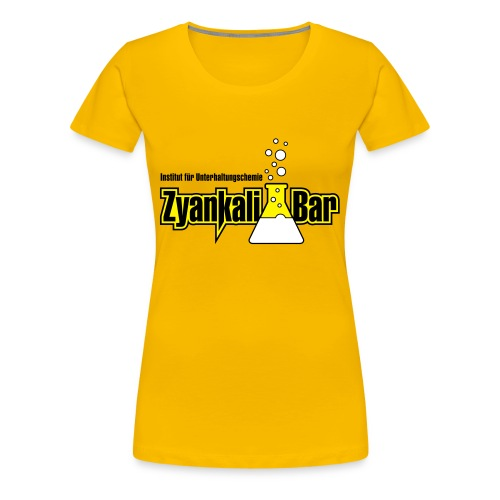Zyankali Bar - Frauen Premium T-Shirt