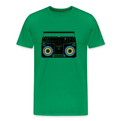 Boombox for live! - Männer Premium T-Shirt