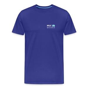Classic T-Shirt MUC BAVARIA white-lettered - Men's Premium T-Shirt