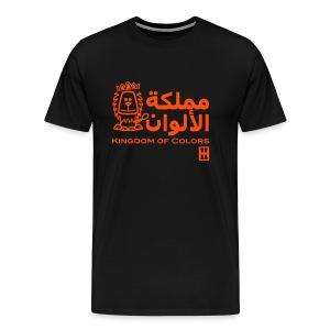 Kingdom Of Colors (Male)  - Mannen Premium T-shirt