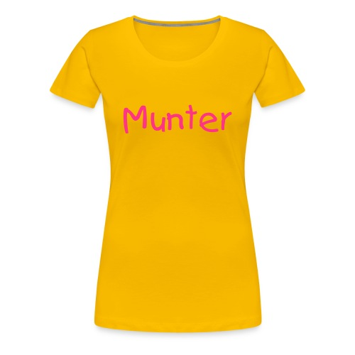 Munter T-Shirt - Women's Premium T-Shirt