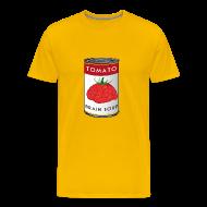 T-Shirts ~ Men's Premium T-Shirt ~ Tomato Brain Soup