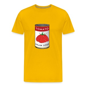 Tomato Brain Soup - Men's Premium T-Shirt