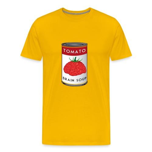 Tomato Brain Soup - Men's Premium T-Shirt