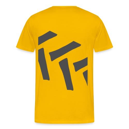 Traktorreifen vorne und hinten - Männer Premium T-Shirt