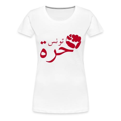 Tunisienne libre - T-shirt Premium Femme