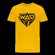 T-Shirts ~ Männer Premium T-Shirt ~ WAP schwarz klassisch