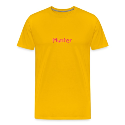 Munter Men's T-Shirt - Men's Premium T-Shirt