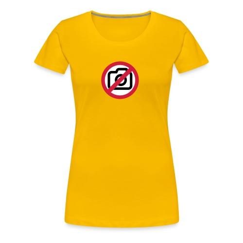 kein foto bitte - Frauen Premium T-Shirt