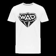 T-Shirts ~ Männer Premium T-Shirt ~ WAP schwarz XXXL