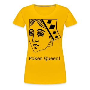 Poker queen ladies tee! - Women's Premium T-Shirt