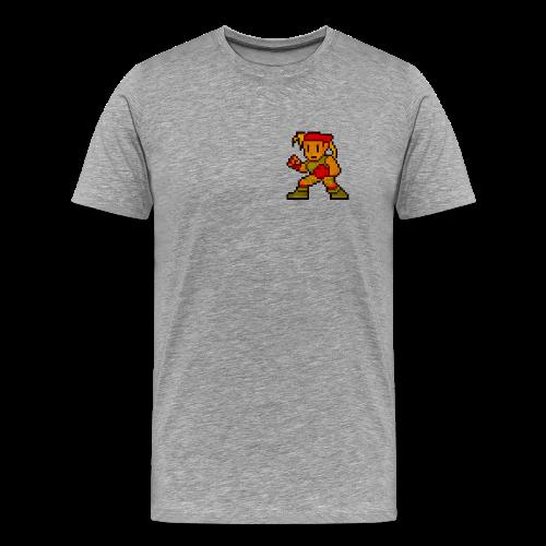 Pixelfighter ArmyGirl (Vintageprint) - Men's Premium T-Shirt