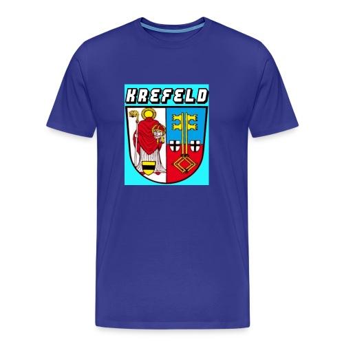 Krefeld mit Logo - Männer Premium T-Shirt