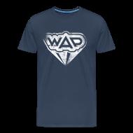 T-Shirts ~ Männer Premium T-Shirt ~ WAP weiss XXXL