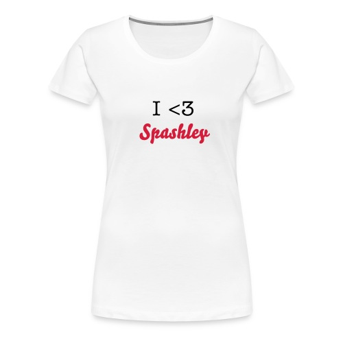 I heart Spashley - Women's Premium T-Shirt