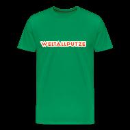T-Shirts ~ Männer Premium T-Shirt ~ Weltallputze T-Shirt klassisch (Neorange)