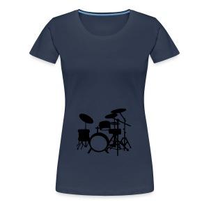 Muziek 1 - Vrouwen Premium T-shirt