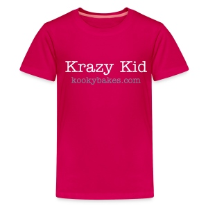 KookyBakes Kid Pink - Teenage Premium T-Shirt