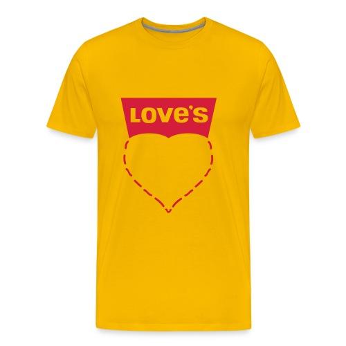 Love´s - Camiseta premium hombre