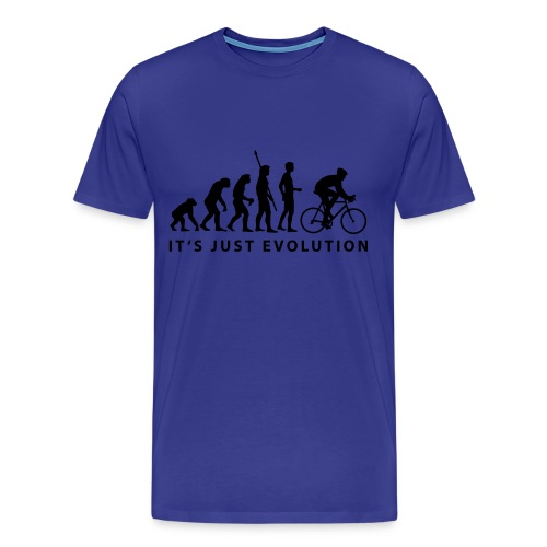 bike evolution tee Tee - Men's Premium T-Shirt