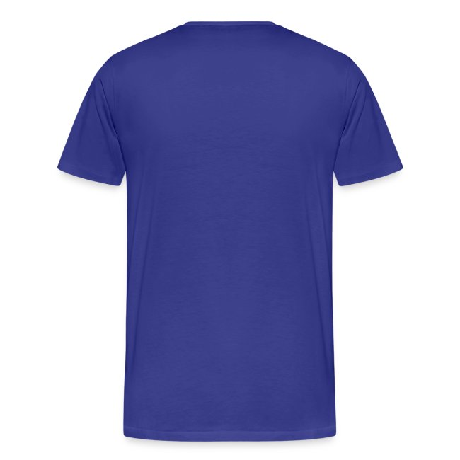 Basic-Shirt Männer purple fühlsch wie i denk