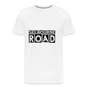 Mens Selbourne Road Black Logo T-shirt - Men's Premium T-Shirt