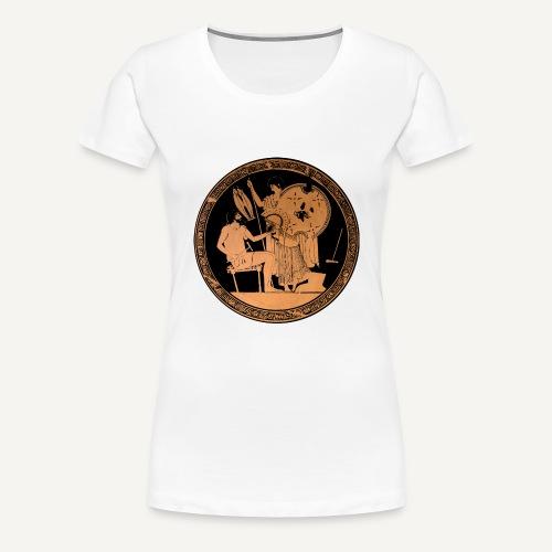 Malarstwo czerwonofigurowe - Koszulka damska Premium
