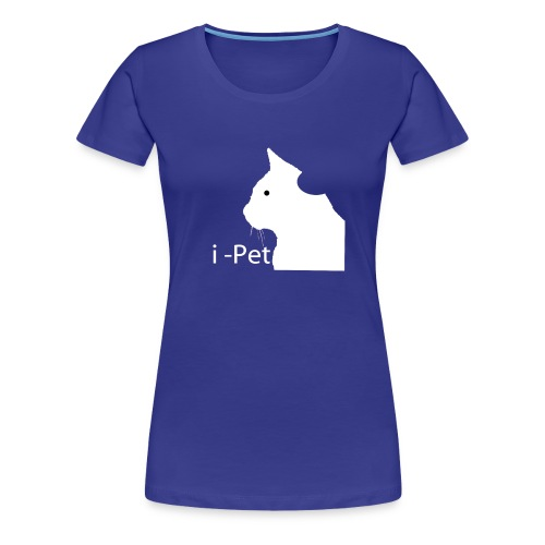 i-Pet The Cat for women - Frauen Premium T-Shirt