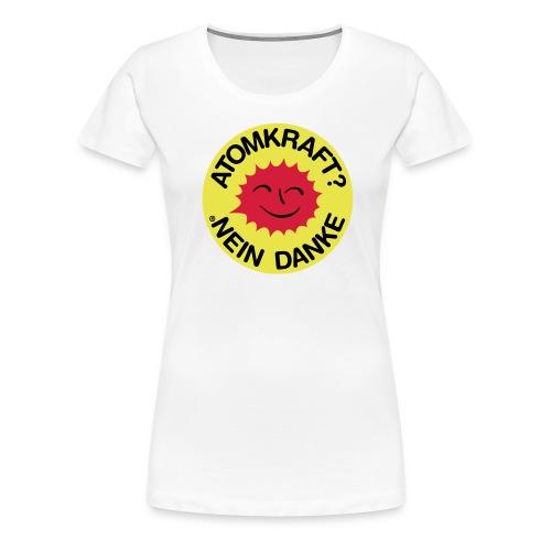 Atomkraft Nein Danke - Frauen Premium T-Shirt