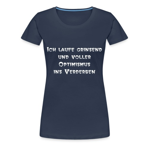 Grinsen/Big Ladies - Frauen Premium T-Shirt