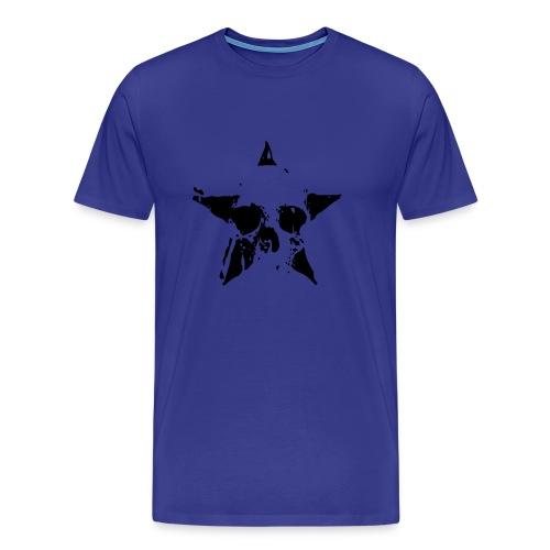 Mannen T-shirt doodshoofd - Mannen Premium T-shirt