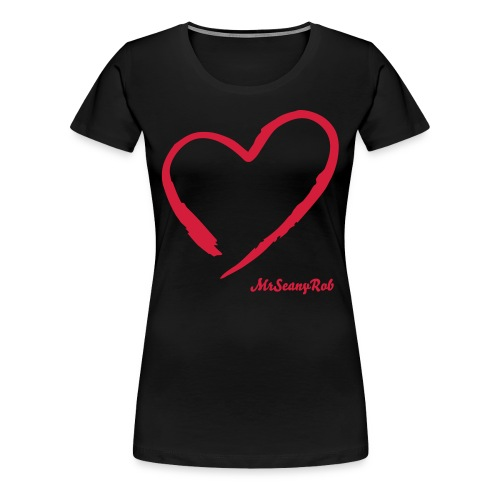 Love Handle's Girlie Tee - Women's Premium T-Shirt