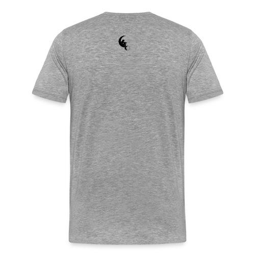T-shirt Premium Homme - acharnement,amour,association,beatmaker,children of the world,droits de l'enfant,enfants,flev,je rappe,la flevprod,lutte,merchandising,momes,momes du monde,momesdumonde,paix,patience et sacrifices,rap conscient,real,true vibes,unite,vrai hip hop,whit,whity