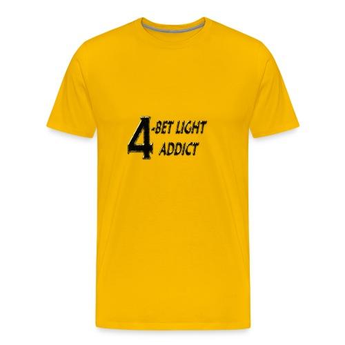 Tee-shirt poker homme 4-bet light addict - TT Pokerwear - T-shirt Premium Homme