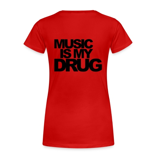 music red - Frauen Premium T-Shirt