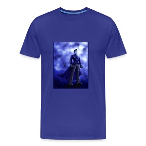 Superhero-Blue - Men's Premium T-Shirt