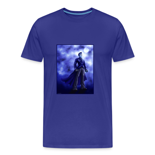 Superhero-Blue - Men's Premium T-Shirt