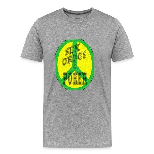 Tee-shirt poker homme Sex,drugs & poker - TT Pokerwear - T-shirt Premium Homme