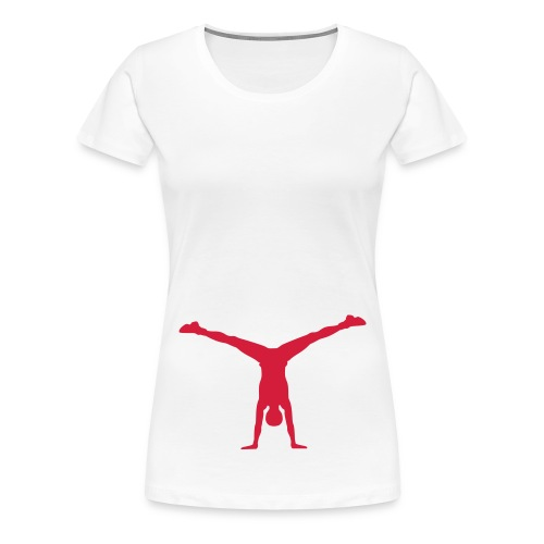 gymnasticly designed top - Women's Premium T-Shirt