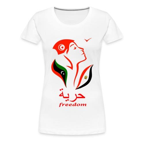 Freedom pour elle - T-shirt Premium Femme