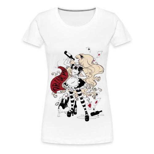 Drink Me! (Alice im Wunderland) - Frauen Premium T-Shirt