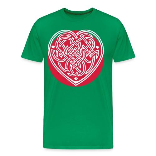 Dragon Heart - Men's Premium T-Shirt