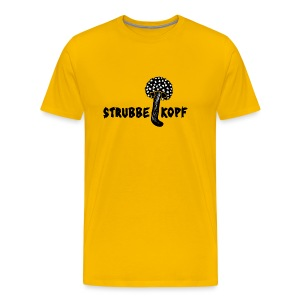Herren Shirt Pilz Strubbelkopf Locken Haar tiershirt tiermotiv - Männer Premium T-Shirt