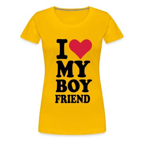 My Boyfriend - Frauen Premium T-Shirt