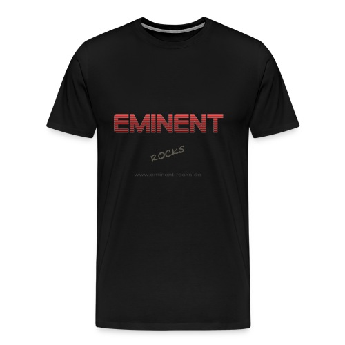 Übergröße Männershirt -rot- - Männer Premium T-Shirt
