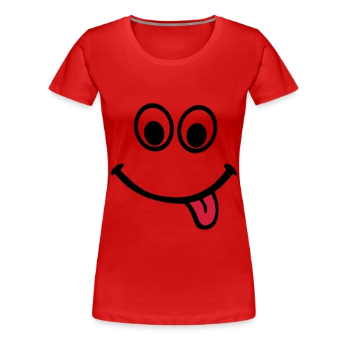 Happyface - Premium T-skjorte for kvinner