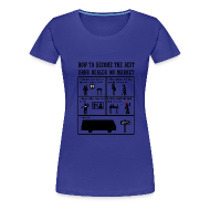 Camisetas ~ Camiseta premium mujer ~ Breaking Bad - how to become the best drug dealer on market