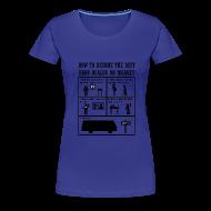 Camisetas ~ Camiseta premium mujer ~ Breaking Bad - how to become the best drug dealer on market