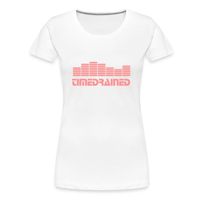 EQ EQUALIZER Frequenz BEAT MUSIK SOUND Techno Electro DJ MIXER - Women's Premium T-Shirt